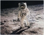 1969 Buzz Aldrin Large Autographed  Photo Apollo 11