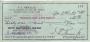 1973 Vincent Price Autograph Check