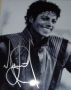 Michael Jackson Hand-signed 10x8