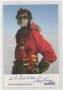 Sir Ranulph Fiennes signed 7x5 photo