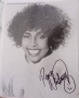 Whitney Houston signed 10x8 photograph